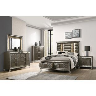 Gilmore Storage Platform 4 Piece Bedroom Set