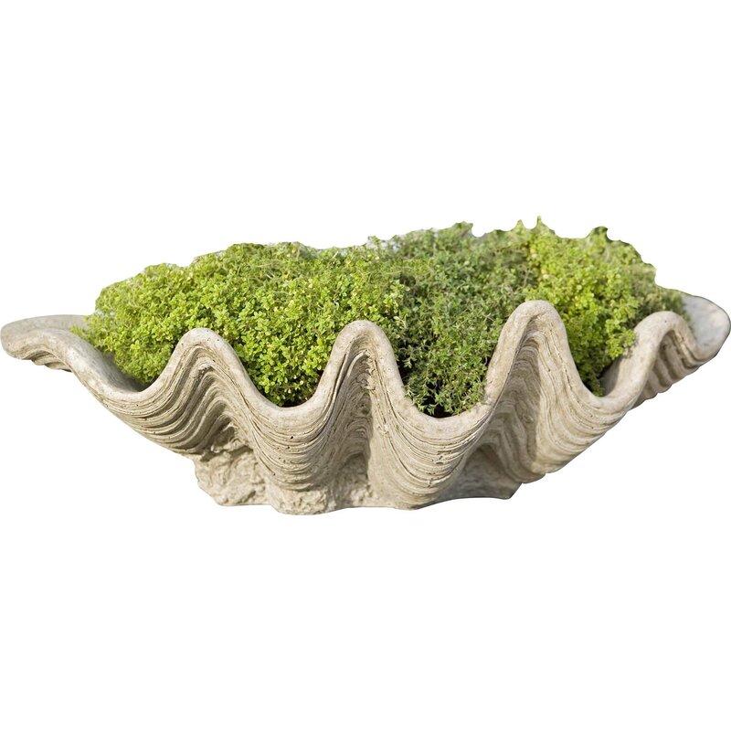 South Seas Cast Stone Pot Planter