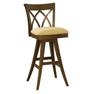 Ines 32 Swivel Bar Stool Red Barrel Studio