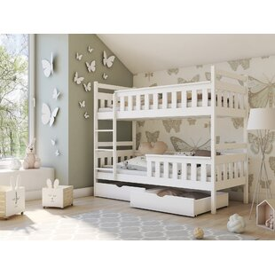 Dyer Single Bunk Bed With Drawers By Harriet Bee