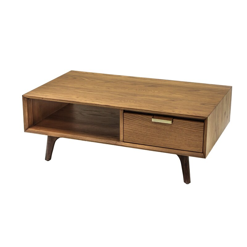 Foundstone Mcmillen Coffee Table With Storage Wayfair