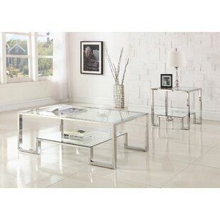 Mcauley 2 Piece Coffee Table Set