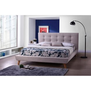 Bullock FullDouble Tufted Upholstered Low Profile Platform Bed