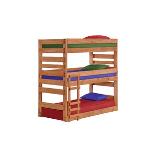 Dabney Stackable Triple Bunk Bed