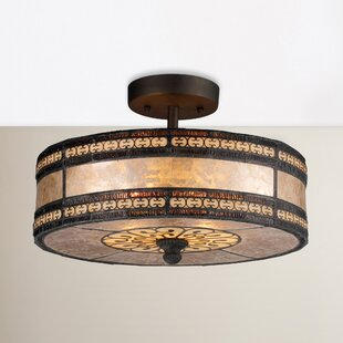 World Menagerie Varun 2-Light Semi Flush Mount