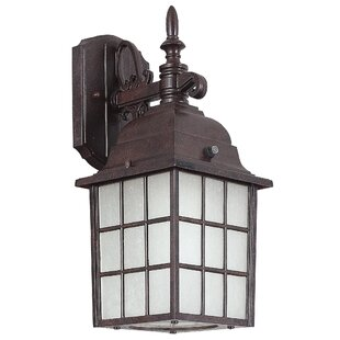Great Price 1-Light Outdoor Wall Lantern By Sunset Lighting