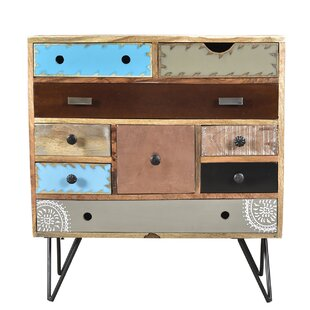 World Menagerie Riddles 9 Drawer Accent Chest