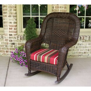 Darby Home Co Fleischmann Rocking Chair with End Table