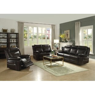 Dores Reclining Motion 3 Piece Living Room Set by Darby Home Co