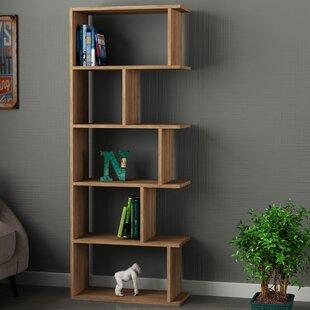 Celina Modern Standard Bookcase Wrought Studio