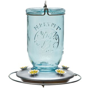 Woodstream Perky Pet Mason Jar Soda Bottle Feeder