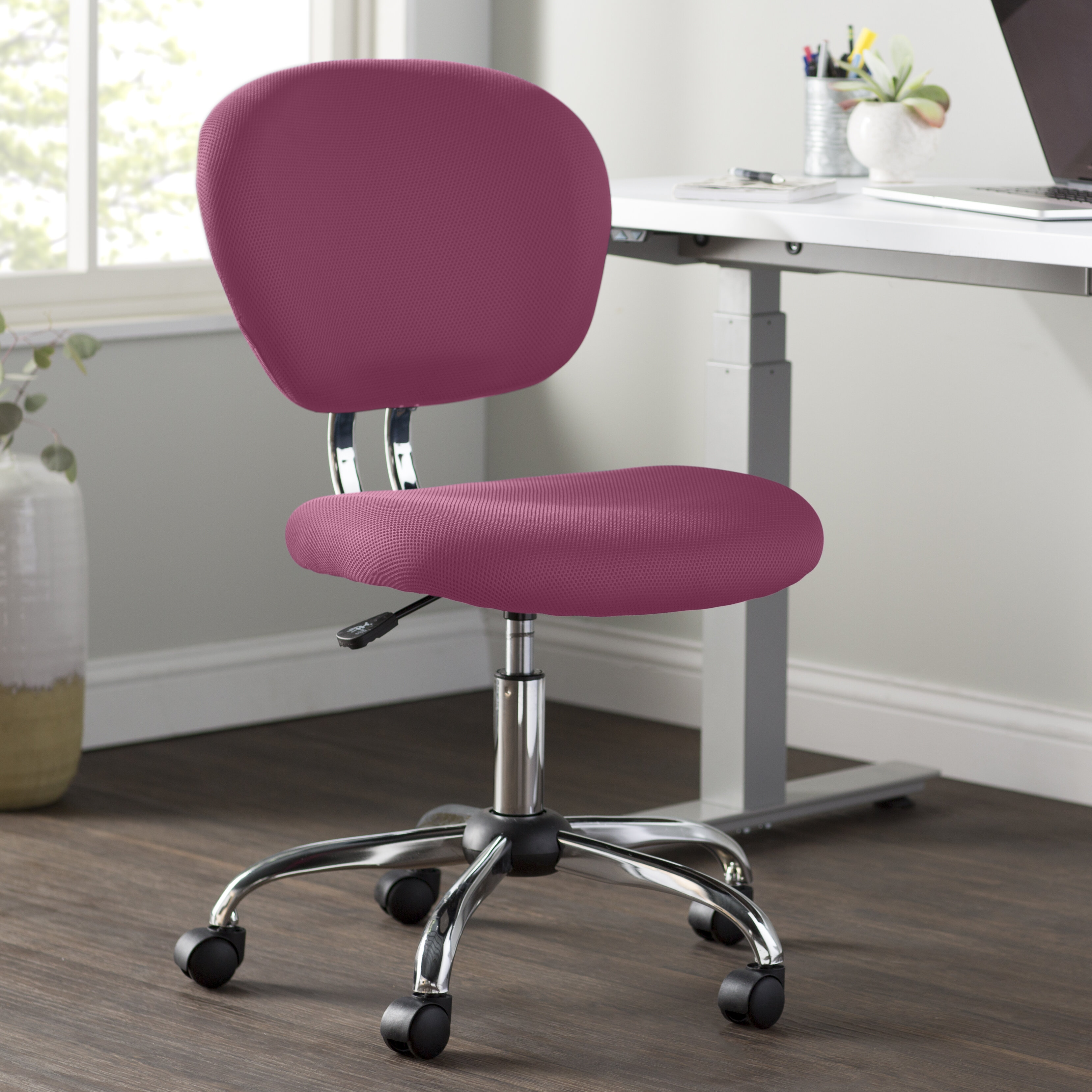 Pink Desk Chairs Free Shipping Over 35 Wayfair