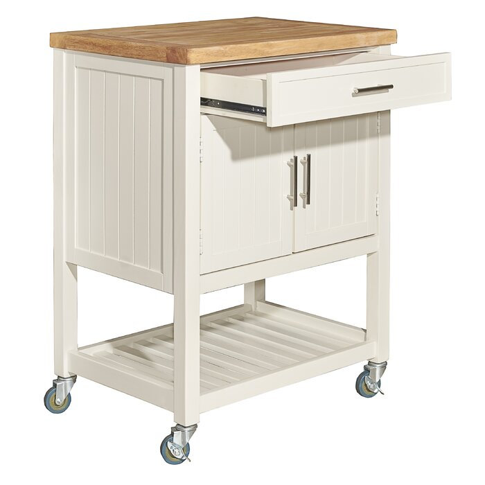Matus Kitchen Cart Butcher Block