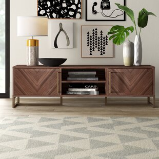 Mulkey Chevron TV Stand for TVs up to 75