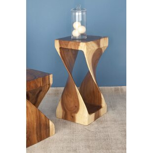 Purchase Suar Wood End Table by Cole & Grey