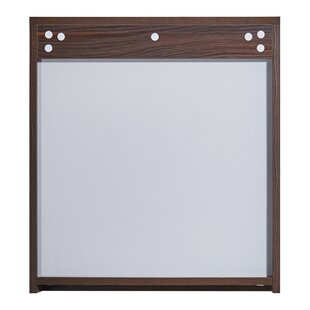 In 35 Series 23.6 X 25.6 Surface Mount Medicine Cabinet by InFurniture