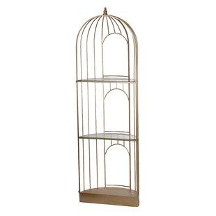 Akridge Caged Etagere Bookcase One Allium Way