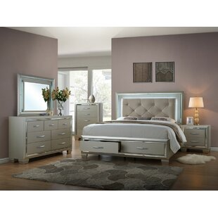 Harlingen Queen Platform 6 Piece Bedroom Set by Rosdorf Park