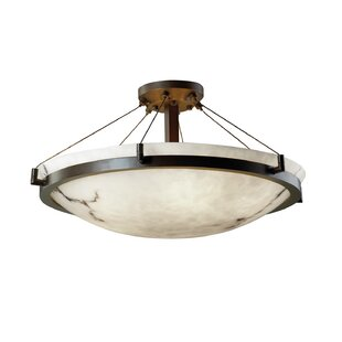 Brayden Studio Keyon 6-Light Semi Flush Mount