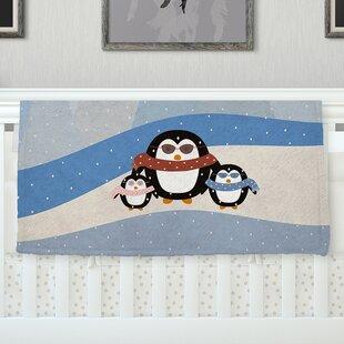 Cute Penguins  by Cristina Bianco Design Fleece Baby Blanket 36be42faa