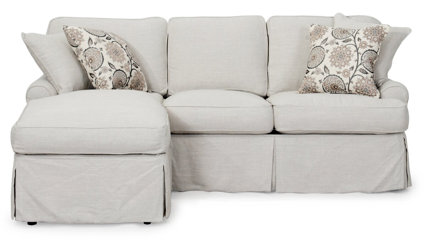 Callie T Cushion Sofa Slipcover Set