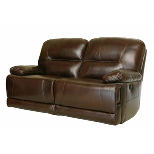 Darby Home Co Bartlet Leather Reclining L..