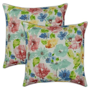 Alcove Outdoor Throw Pillow (Set of 2)