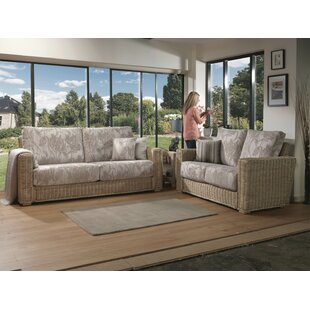 Chan 2 Piece Conservatory Sofa Set By Brambly Cottage