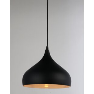 Brantner 1-Light Teardrop Pendant by Ivy Bronx