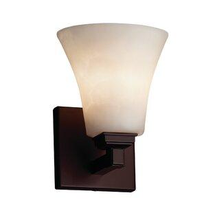 Genaro 1-Light LED Armed Sconce by Brayden Studio