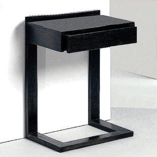 Hershberger 1 Drawer Bedside Table By Ebern Designs
