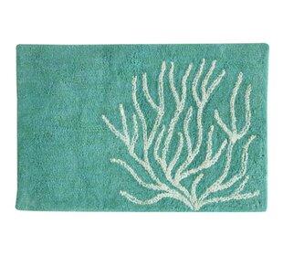 Merveilleux DuJuan Coral Bath Rug