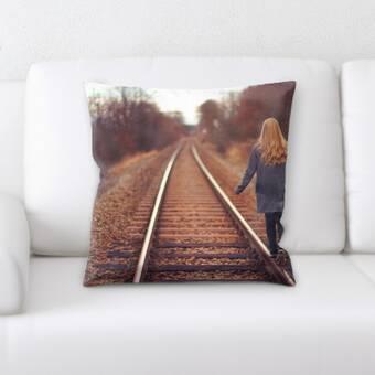 Rug Tycoon Train Experience Throw Pillow Wayfair