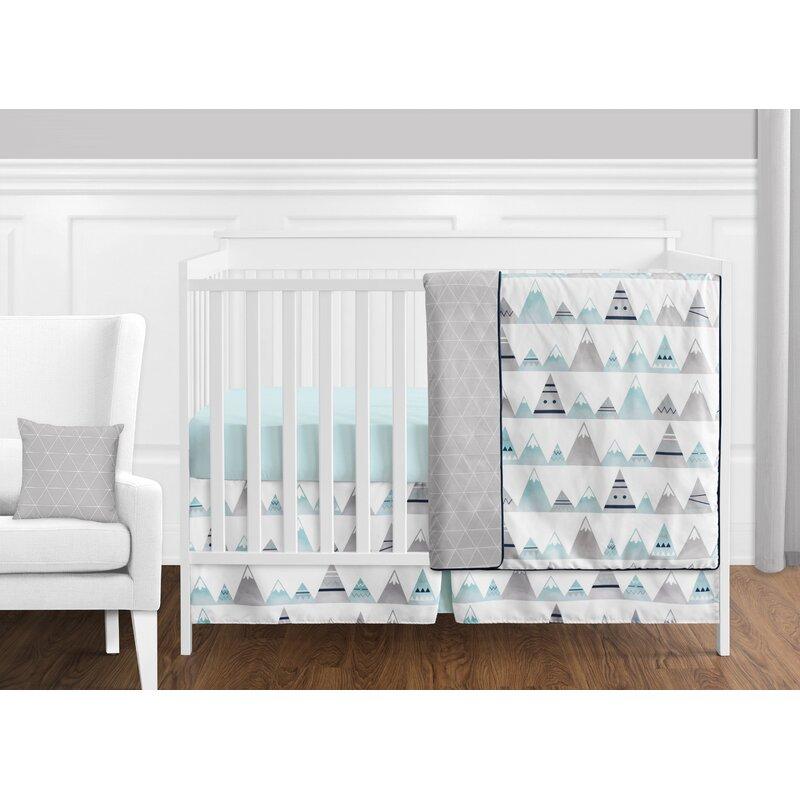 Sweet Jojo Designs Mountains 11 Piece Crib Bedding Set Wayfair