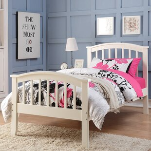 Coar Twin Slat Bed by Harriet Bee