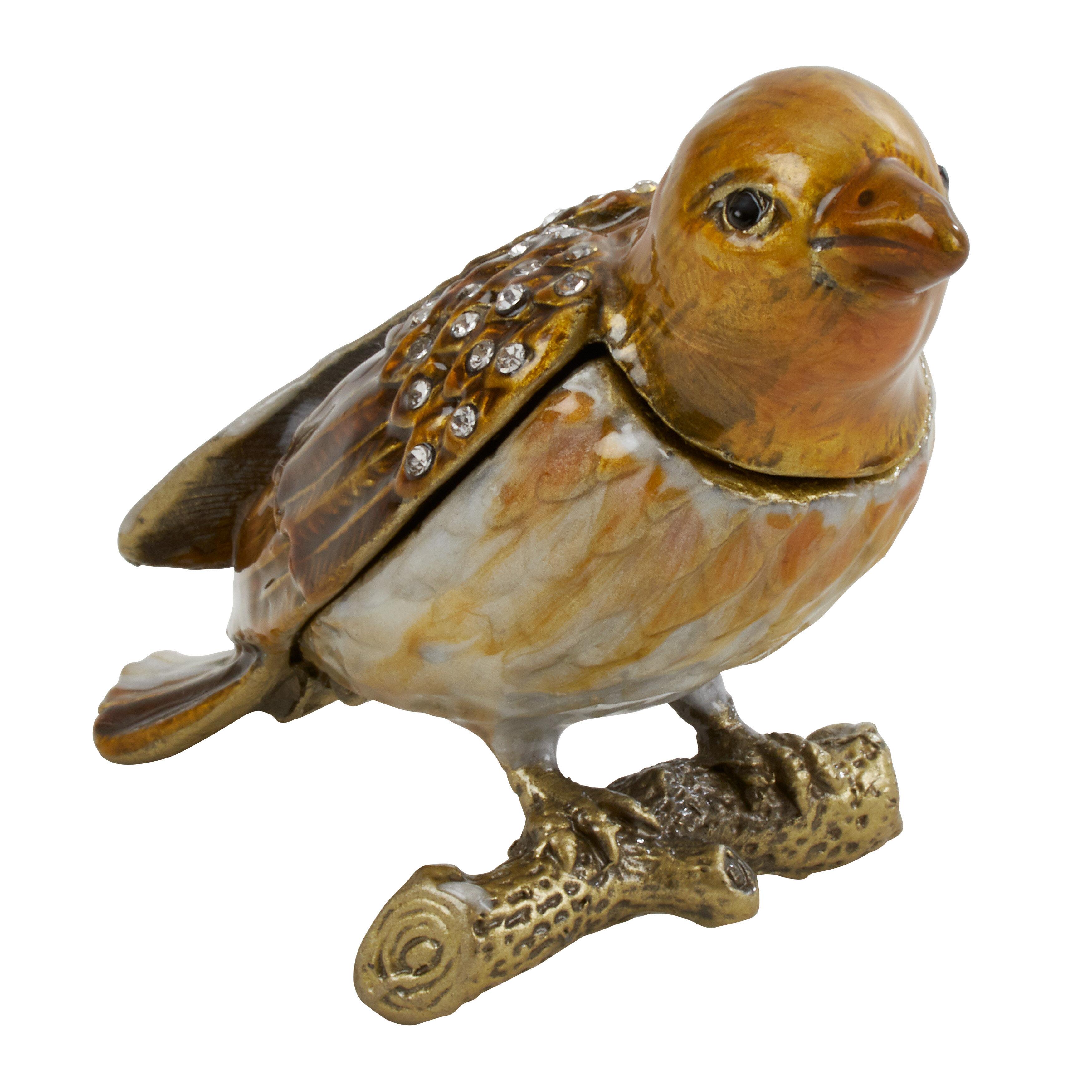 Astoria Grand Perched Bird Jewelry Box Wayfair
