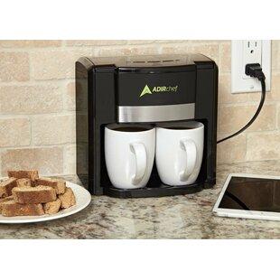 AdirChef 2 Cup BFF Coffee Maker