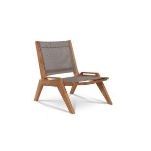 Bench Sling Teak Patio Chair
