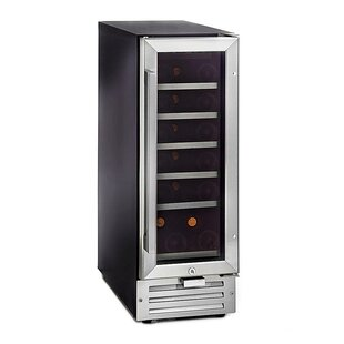 18 Bottle Single Zone Built-In Wine Cooler by Whynter