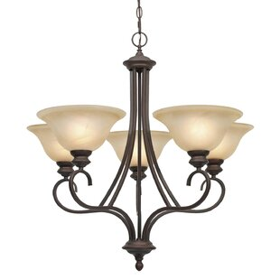 Newson 5-Light Shaded Chandelier