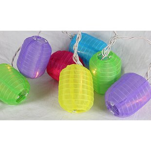 Sienna Lighting 10-Light Lantern String Lights