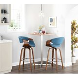 Auburn Swivel Bar & Counter Stool (Set of 2) by Langley Street™