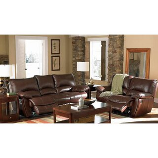 Alicea 2 Piece Leather Reclining Living Room Set by Canora Grey SKU:CD516320 Information