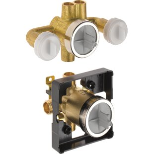 Jetted Shower 6-Setting Rough-In Valve With Extra Outlet by Delta