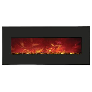 Spells Wall Mounted Electric Fireplace by Orren Ellis