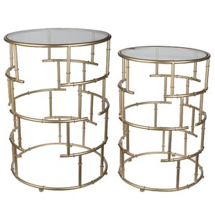 Whalley 2 Piece End Table Set by House of..