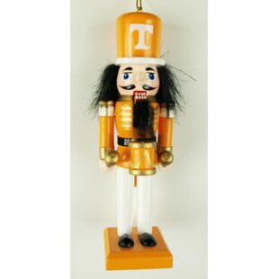 NCAA Clemson Tigers Wood Nut Hanging Figurine Ornament by OXBAY BY SEASONS DESIGNS