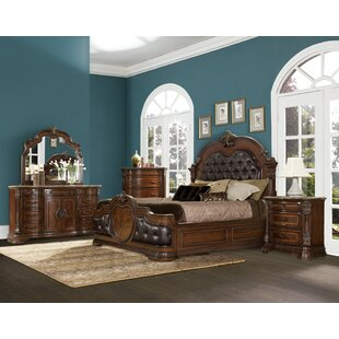 Hofmeister Standard Solid Wood Configurable Bedroom Set