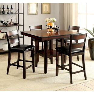 Red Barrel Studio Daphne Transitional 5 Piece Counter Height Dining Set