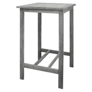Darby Home Co Densmorer Wooden Bar Table